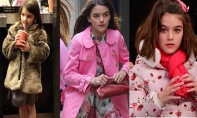 Bóc giá những trang phục đắt đỏ nhất của con gái Tom Cruise – bé Suri