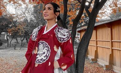 BB Trần diện Hanbok cực thần thái, sẵn sàng 'tiến cung' ở Hàn Quốc
