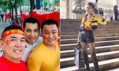 Sao Việt hào hứng cổ vũ và dự đoán kết quả trận đấu giữa ĐT Việt Nam - Thái Lan
