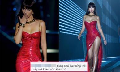Siêu mẫu Hà Anh bị chê 'bụng như cái trống', fan ruột ào ào vào bênh: 'Đẻ được đi rồi biết'