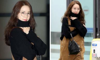 Cách 'hack tuổi' siêu đỉnh của Yoona: Mặc quần yếm, đeo kính Nobita đáng yêu