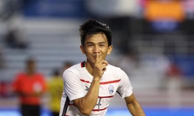U22 Việt Nam vs U22 Campuchia: Thầy Park e ngại tiền đạo gốc Việt bên phía đối thủ