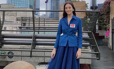 Vượt mặt hơn 100 đối thủ, Lương Thuỳ Linh được dự đoán Top 4 Miss World 2019