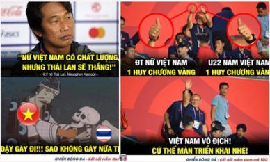 Ảnh chế hài hước sau chiến thắng kiên cường của đội tuyển nữ Việt Nam