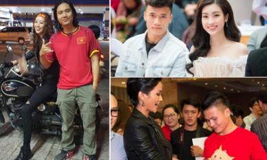 Những Hoa hậu, Á hậu cuồng nhiệt với bóng đá, thêm danh sách Hoa hậu Khánh Vân
