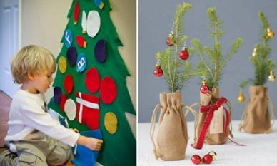 40 ý tưởng trang trí Giáng sinh vừa nhanh vừa độc cho trẻ em