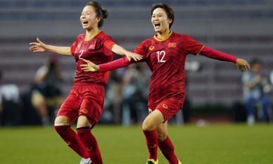 Giành HCV SEA Games 30, đội tuyển nữ Việt Nam bay cao trên BXH FIFA