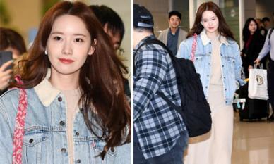 Yoona đẹp xuất thần ở sân bay, fans trầm trồ với phong cách trẻ trung và rất đỗi dịu dàng