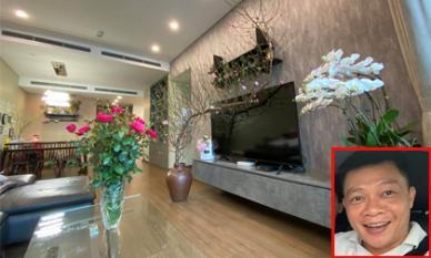 BTV Quang Minh trưng đủ loại hoa trong căn hộ để chuẩn bị đón Tết