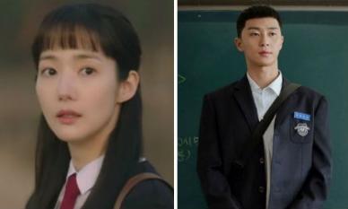 Chẳng hẹn mà gặp, 'Thư ký Kim' Park Min Young và 'Phó Chủ tịch' Park Seo Joon rủ nhau cưa sừng làm học sinh