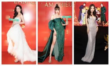 Lan Ngọc, Jun Vũ, Diễm My 9X.... oanh tạc thảm đỏ với sắc vóc nữ thần