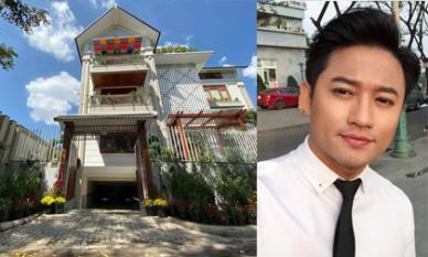 Không gian nhà mới của diễn viên Quý Bình ngập tràn sắc hoa