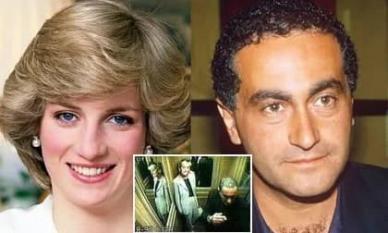 Hình ảnh cuối cùng của Công nương Diana với bạn trai giàu có người Ai Cập đã bị lộ! Người tình nắm chặt tay Diana khi gặp nạn