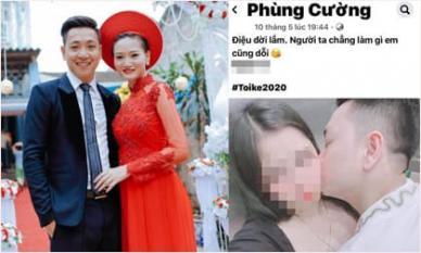 Diễn viên Phùng Cường bị tố công khai ngoại tình, kết hôn với người khác khi vợ vừa sinh con