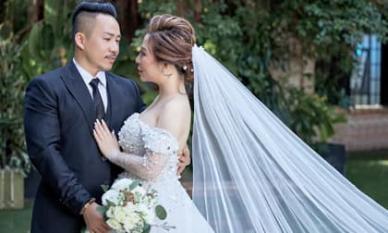 Lộ ảnh cưới đẹp như mơ của Hoa hậu Kristine Thảo Lâm cùng ca - nhạc sĩ Huỳnh Nhật Đông