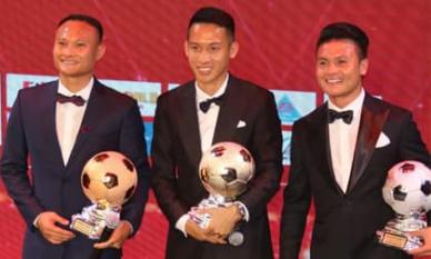 Tiền vệ Đỗ Hùng Dũng đoạt Quả bóng vàng Việt Nam 2019