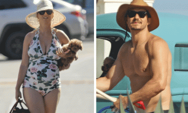 Bầu bí những tháng cuối Katy Perry vẫn diện đồ bơi nóng bỏng, sánh đôi cùng vị hôn phu Orlando Bloom cơ bắp cuồn cuộn