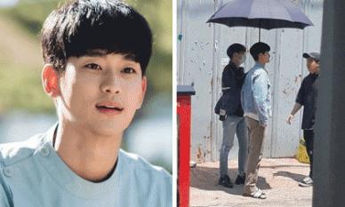 Nhận cát-xê gần 4 tỷ đồng/ tập phim vậy mà Kim Soo Hyun lại chỉ đi dép lê trên phim trường