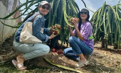 Về quê làm vườn, trồng cây, Hà Tăng vẫn thể hiện thần thái đỉnh cao không ai sánh kịp