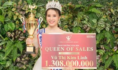 Vũ Thị Kim Linh giữ vững ngôi vị Nữ Hoàng Sales Top White với tổng giải  thưởng 1.308.000.000đ