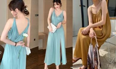 Bạn có biết? Mùa hè này 'váy sling' thắng váy khác! Vừa làm mới vừa gợi cảm, thật đẹp!