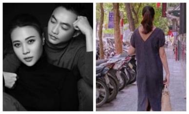 Không xác nhận tin bầu bí, Đàm Thu Trang lại giống Hà Hồ đến lạ với cách khoe bầu ngược đời