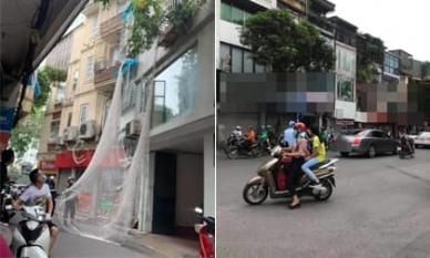 Bi hài trộm đột nhập vào nhà dân ở Núi Trúc nhưng lại sợ độ cao phải nhờ công an giăng lưới giải cứu