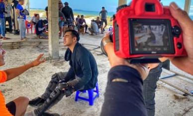 Thanh Bình gặp tai nạn phim trường lúc nửa đêm khiến fan lo lắng