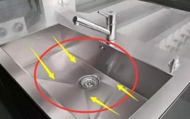 Đừng sử dụng bồn rửa truyền thống trong bếp, rất khó để làm sạch và sử dụng, bây giờ phổ biến lắp đặt nó như thế này!