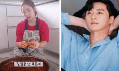 Park Min Young trổ tài làm kim chi, vậy mà dân mạng lại cứ réo gọi Park Seo Joon là sao?