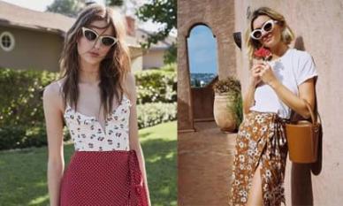 Đừng mặc váy xếp li mọi lúc, 'váy quấn' năm nay rất phổ biến!