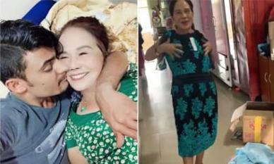 'Cô dâu 65 tuổi' ở Đồng Nai khui quà sinh nhật của fan tặng, khoe chồng trẻ đã không còn đi phụ hồ mà chuyển sang làm giáo viên
