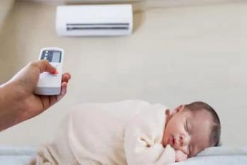 Bé nằm điều hòa vào mùa hè để bao nhiêu độ? 26 độ không phải là tiêu chuẩn tốt nhất, vì vậy, bé sẽ sớm bị ốm