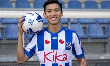 Văn Hậu chính thức chia tay Heerenveen, trở lại Việt Nam thi đấu