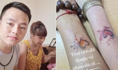 'Cô dâu 62 tuổi' Thu Sao xăm hình trái tim đôi với chồng trẻ, tiết lộ Hoa Cương từng 'đong đưa ong bướm' sau khi kết hôn
