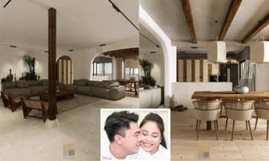 Không gian giản đơn, mộc mạc bên trong căn hộ 350 m2 của ca nương Kiều Anh