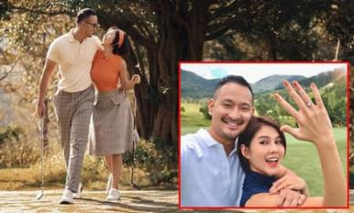 Sau màn cầu hôn bằng nhẫn kim cương khủng, MC Thu Hoài nhá hàng khoảnh khắc theo concept cưới