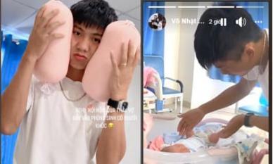 Nhật Linh tiết lộ Phan Văn Đức bật khóc khi vợ vào phòng sinh