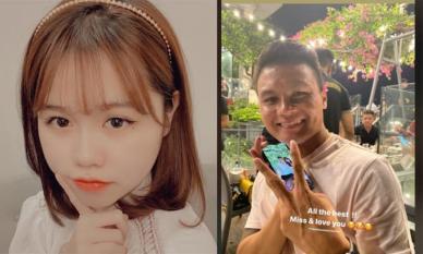 Khoe ảnh cắt tóc ngắn cực xinh, Huỳnh Anh không quên thể hiện nỗi nhớ Quang Hải