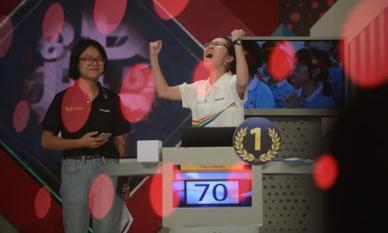 Sau 8 năm, đã có nữ thí sinh lên ngôi quán quân chung kết năm Olympia, nhận giải thưởng gần 1 tỷ đồng