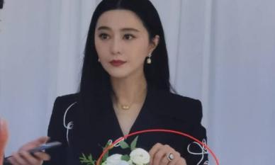 Phạm Băng Băng dính nghi vấn có quan hệ mới vì đeo nhẫn 'khủng' ở ngón áp út
