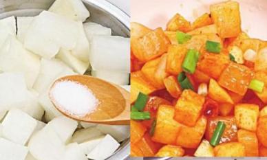 Đầu bếp chuyên nghiệp: Đừng chỉ thêm muối vào củ cải muối, hãy cho thêm thứ này vào, nó sẽ có vị chua ngọt rất ngon