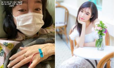 Elly Trần tiết lộ tình hình sức khỏe sau khi gây xôn xao với ảnh khóc trên giường bệnh