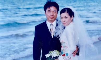 Ảnh cưới hiếm 16 năm trước của ca sĩ Mỹ Lệ và chồng