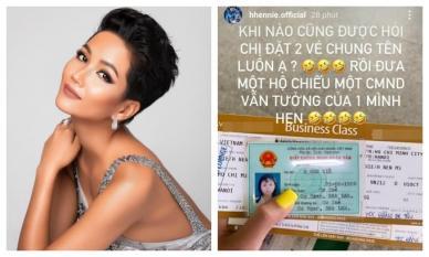 H'Hen Niê 'cười ra nước mắt' vì bị nhầm sinh năm 1986, vừa tròn 34 tuổi?