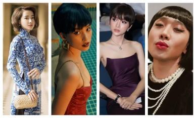 Sao Vbiz thi nhau 'đu' trend tóc ngắn - tóc dài: Dàn nữ xinh đẹp chất ngất, kéo đến Trấn Thành mới 'gục ngã'
