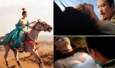Cảnh thị tẩm phim Trung: Phạm Băng Băng 'dập dềnh' trên lưng ngựa, Hoắc Kiến Hoa một mình đóng với 5 mỹ nữ