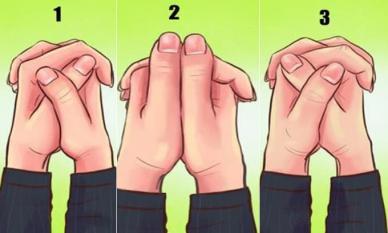 Cách nắm tay tiết lộ gì về tính cách của bạn?