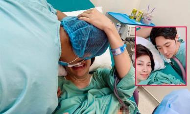 Pha Lê kể về hành trình 'vượt cạn', tiết lộ chồng người Hàn khóc to nhất bệnh viện