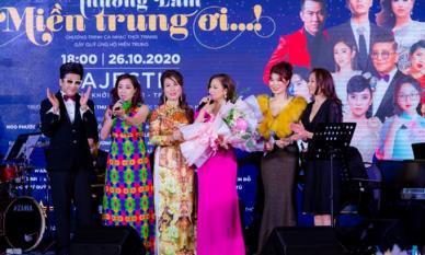 MC Thi Thảo xuất hiện cùng dàn sao Việt quyên góp gần 5,3 tỷ cho miền Trung